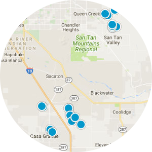 Arizona City Real Estate Map Search