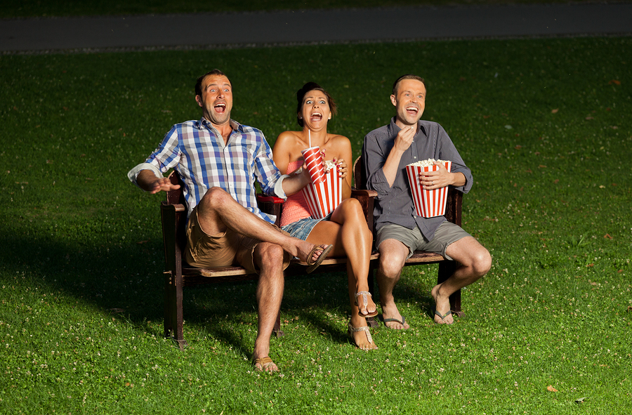 Create an outdoor theater on Silicon Valley real estate.