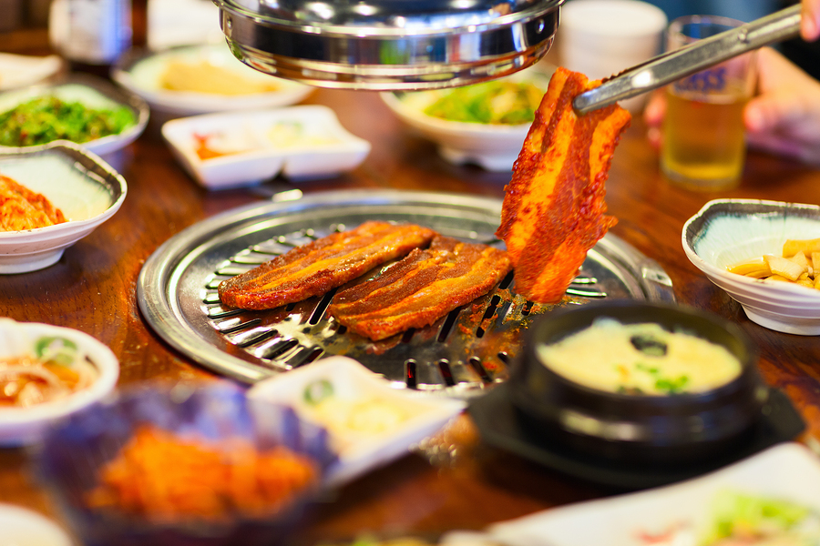 Enjoy Korean barbecue on Santa Clara real estate.