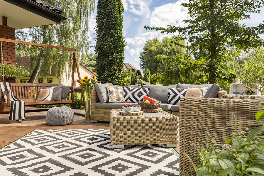 Improve the back yard at your Silicon Valley property.