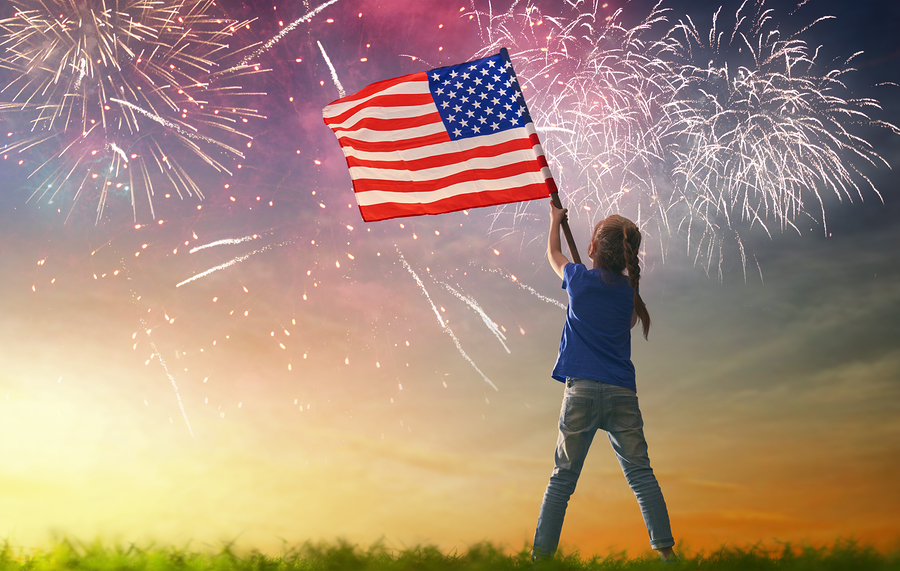 Celebrate July 4th on Saratoga real estate.