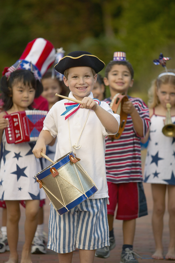 Saratoga property owners celebrate July 4th.