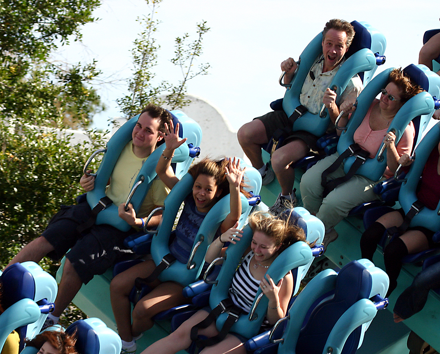 Ride the roller coasters near your Santa Clara home.