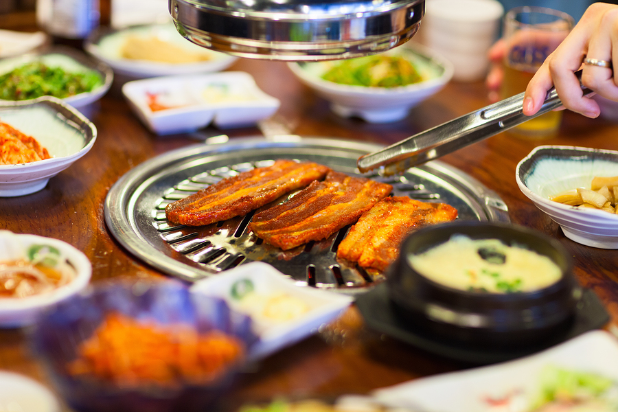Live in Santa Clara and eat Korean barbecue.