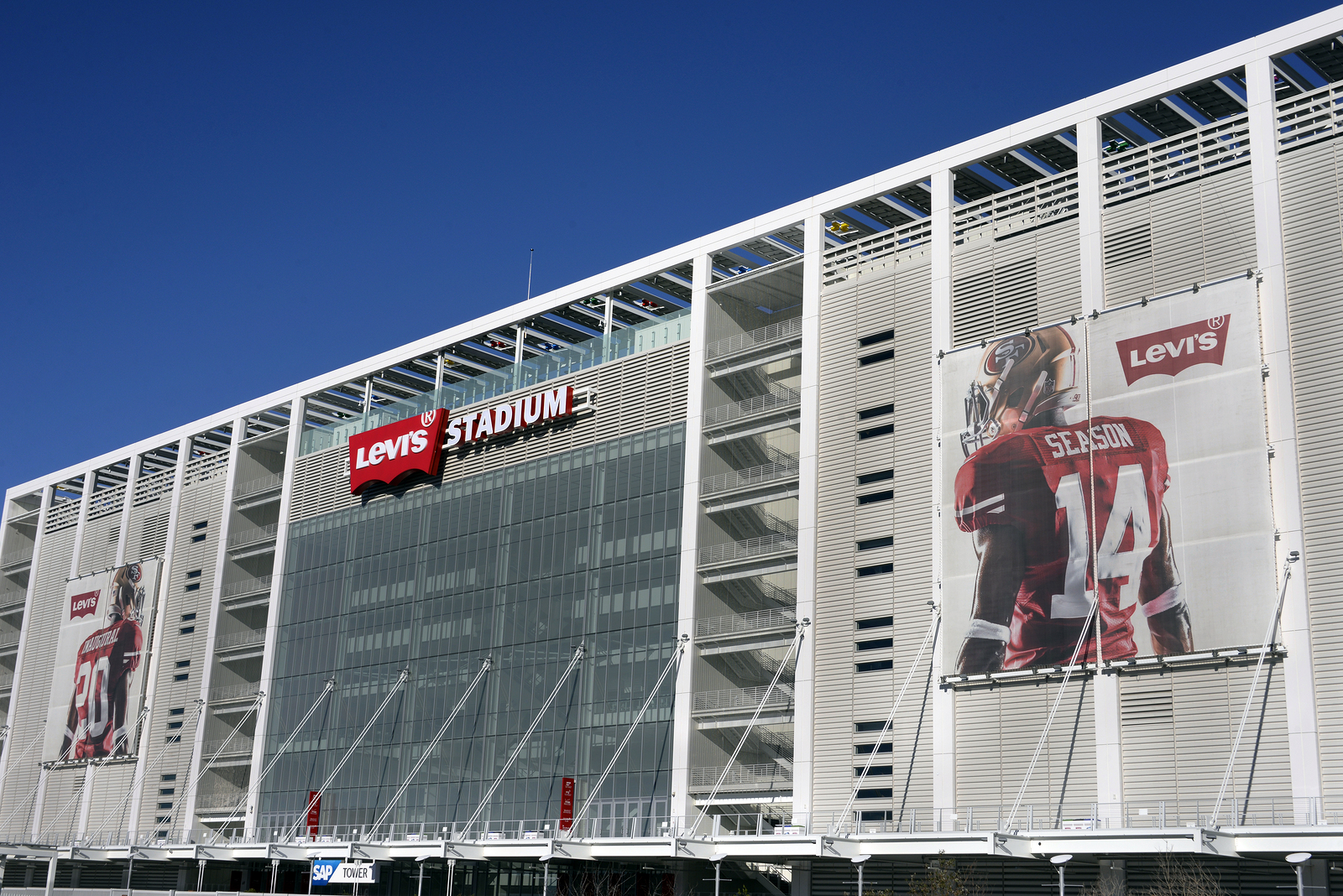 Live in Santa Clara and visit Levi's Stadium.