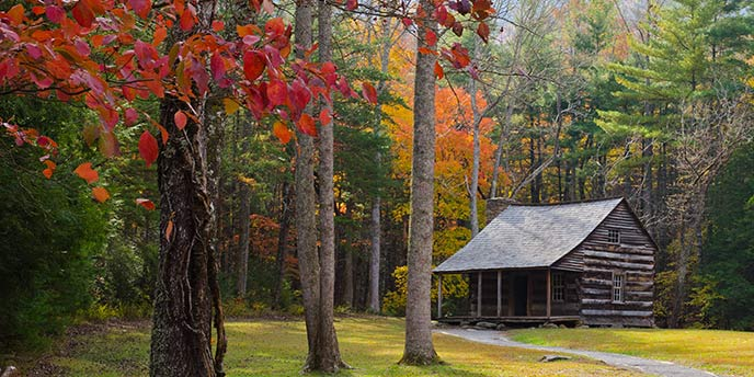 Smoky Mountain TN Log Cabins For Sale from $100k to $200k