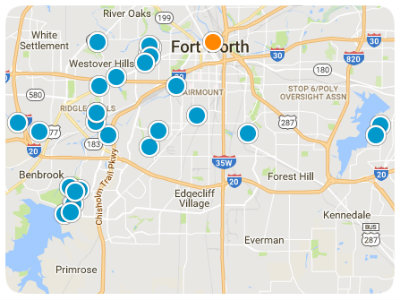 DFW Real Estate Map Search