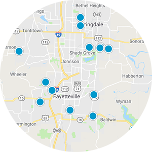 Fayetteville Real Estate Map Search