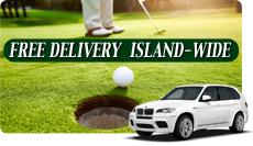 Free Golf Club Delivery Maui