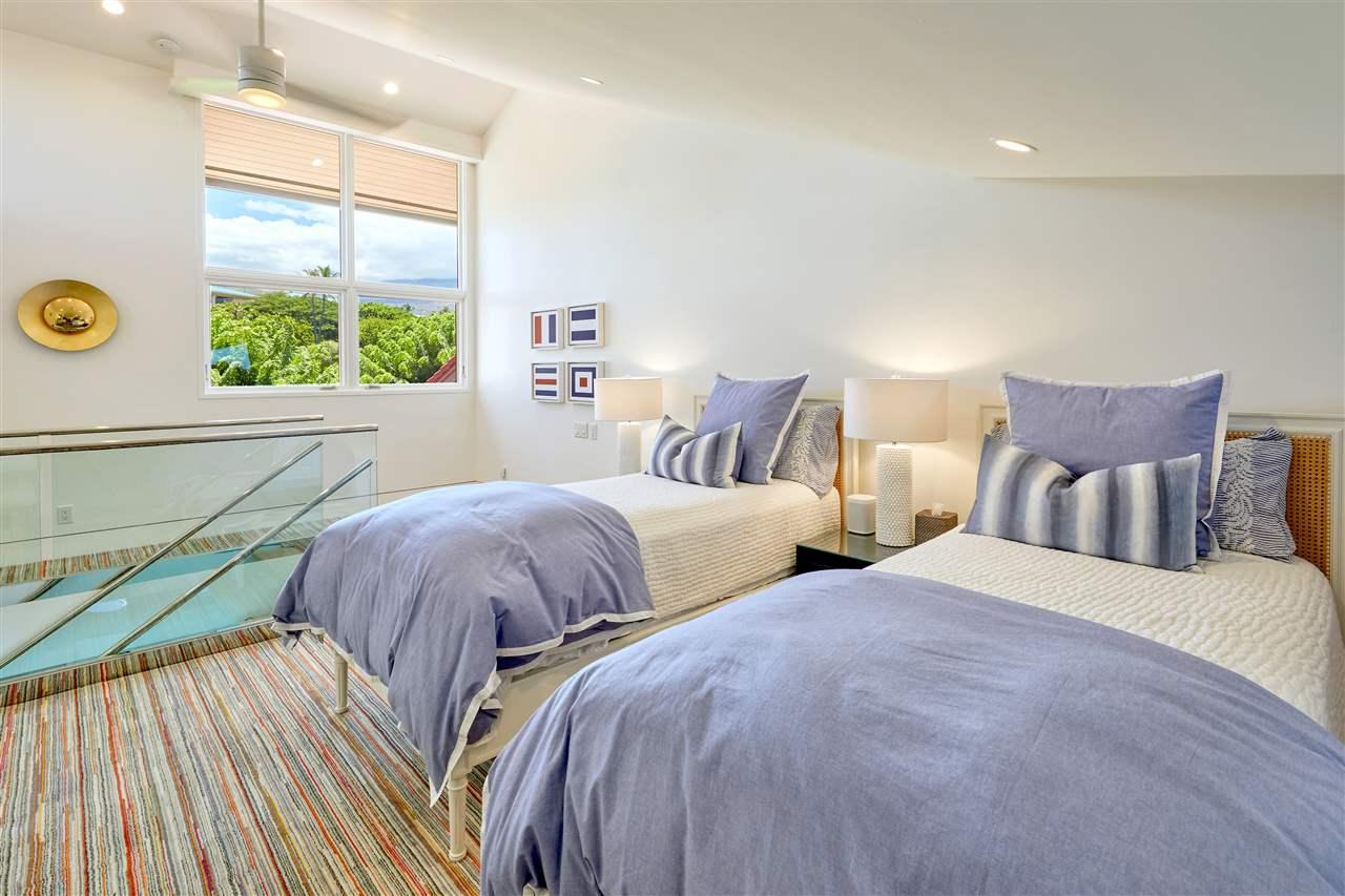 Wailea Point Unit 605 Loft Bedroom