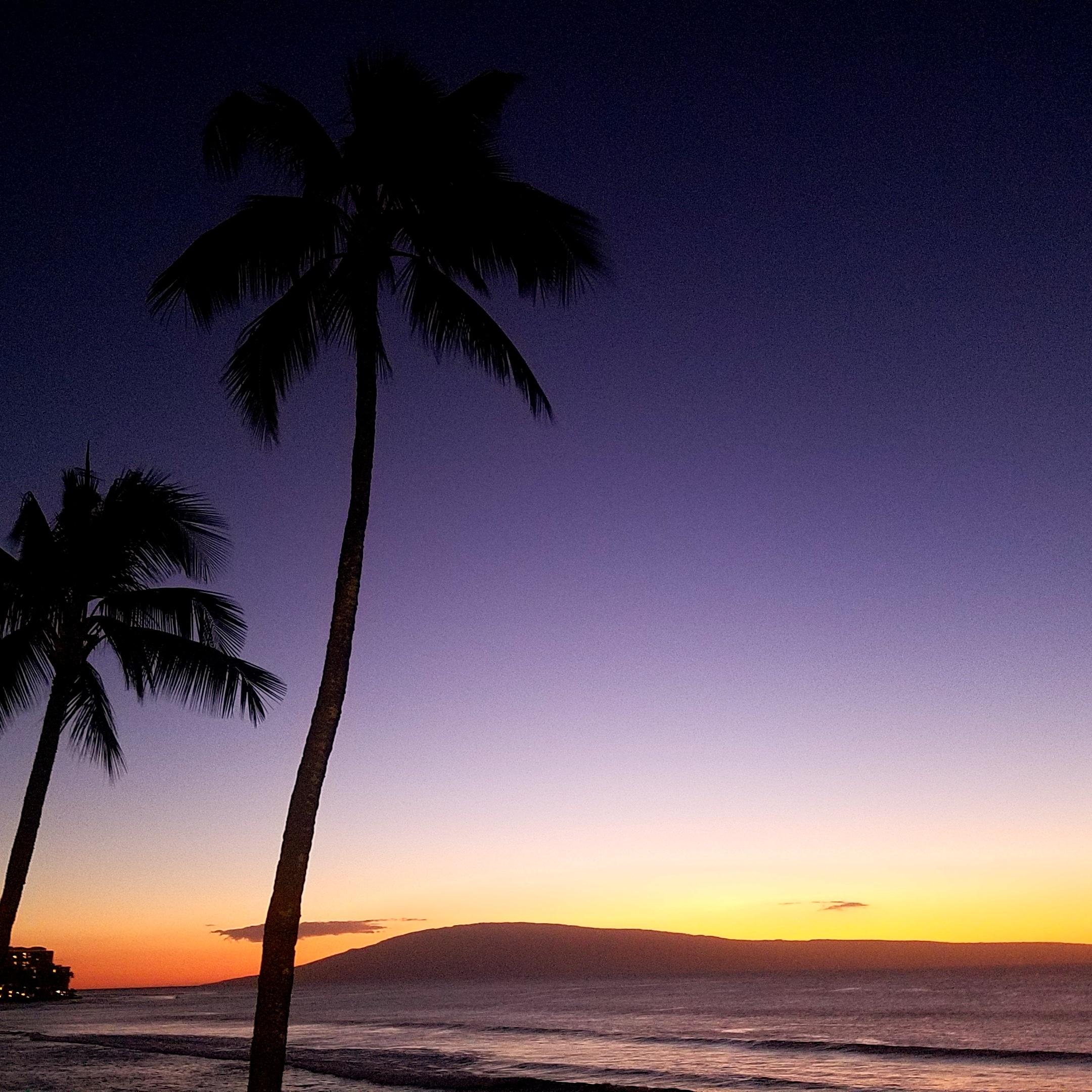 Sunset from Hale Ono Loa.