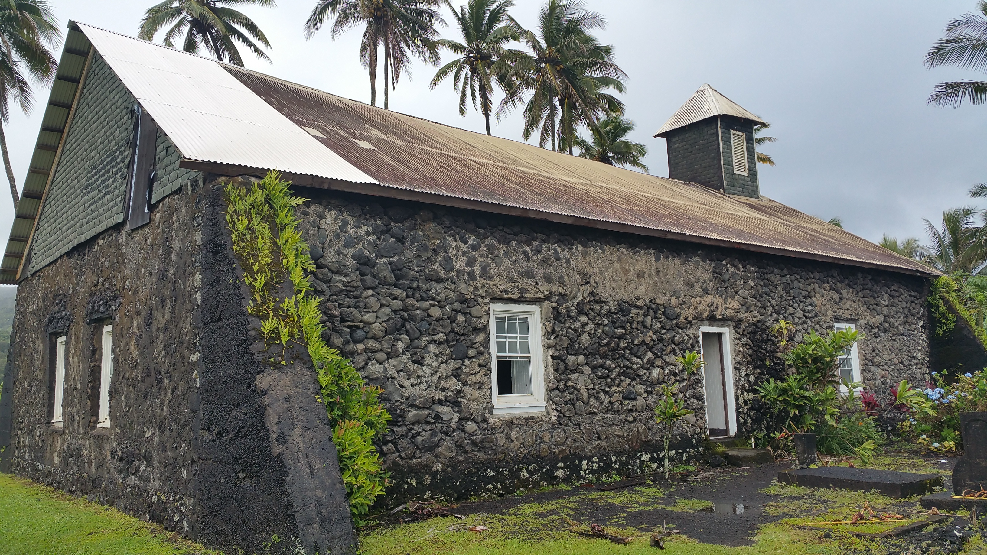 Keanae Church Maui.