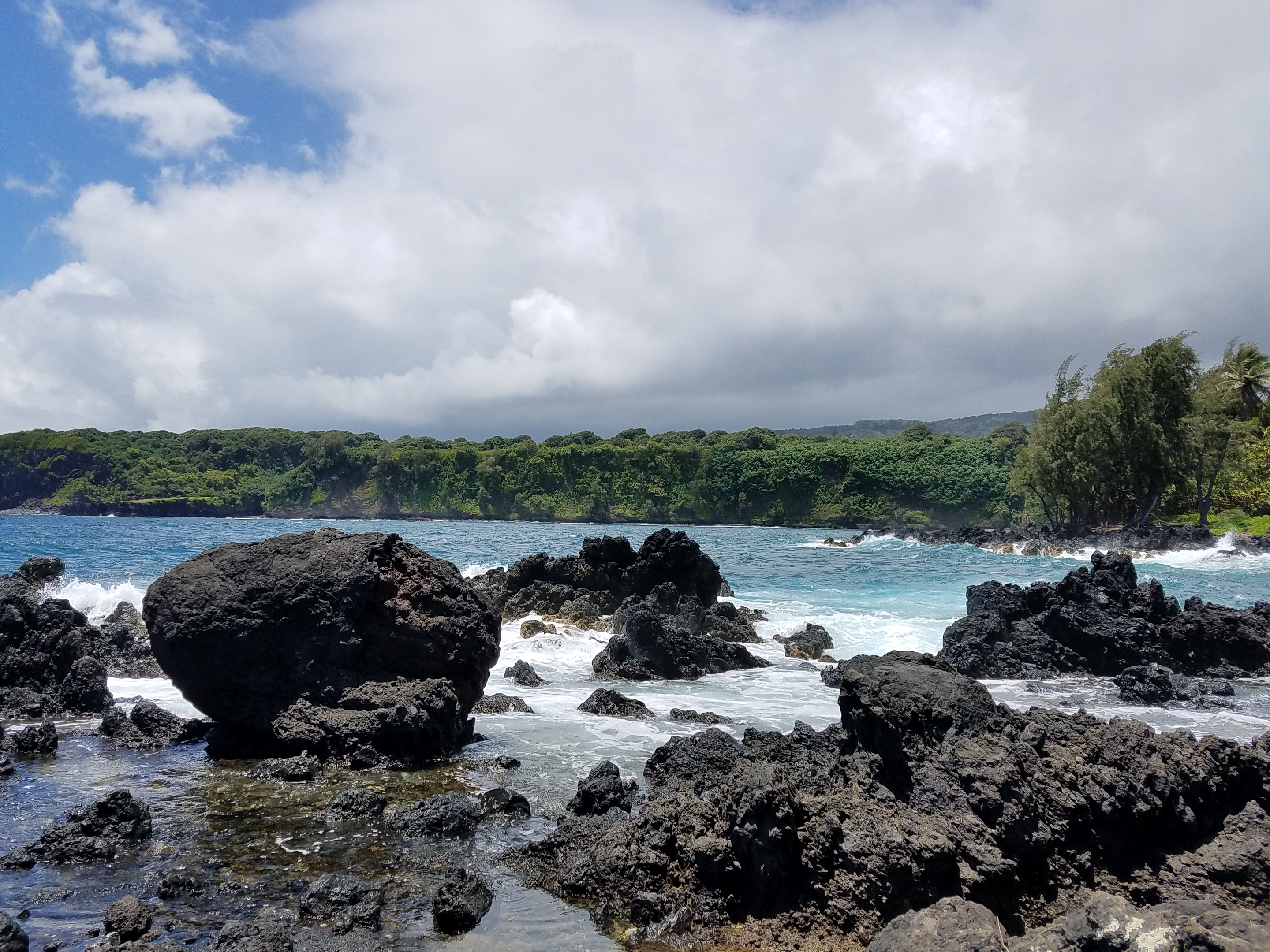 Keanae Peninsula. Road To Hana. Maui Hawaii.