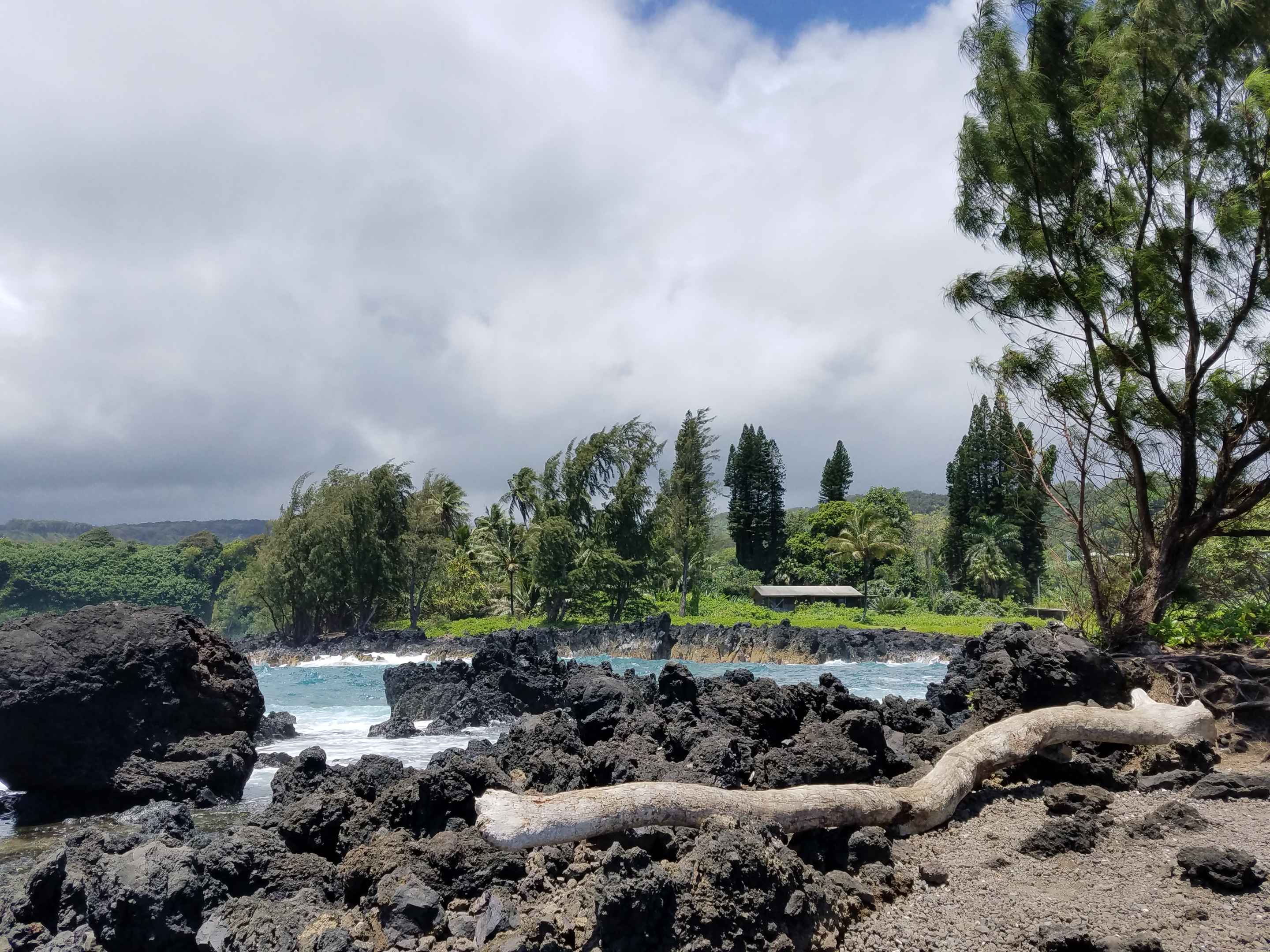 Beautiful Keanae Peninsula on the island of Maui Hawaii.