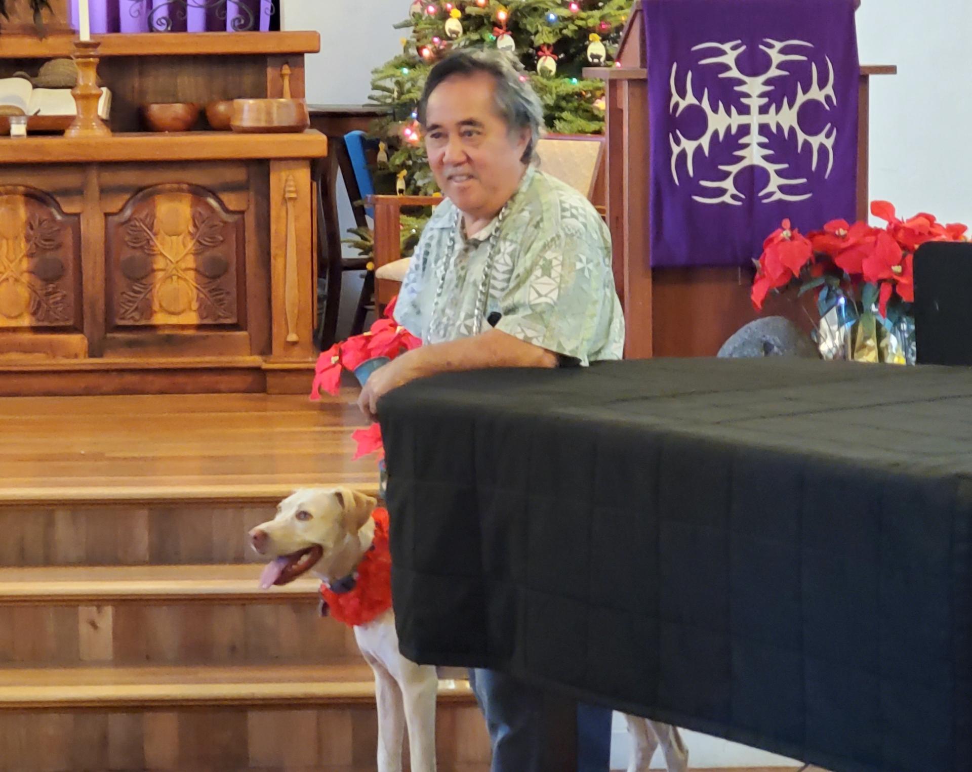 Pastor of the Keawala'i Congregational Church.