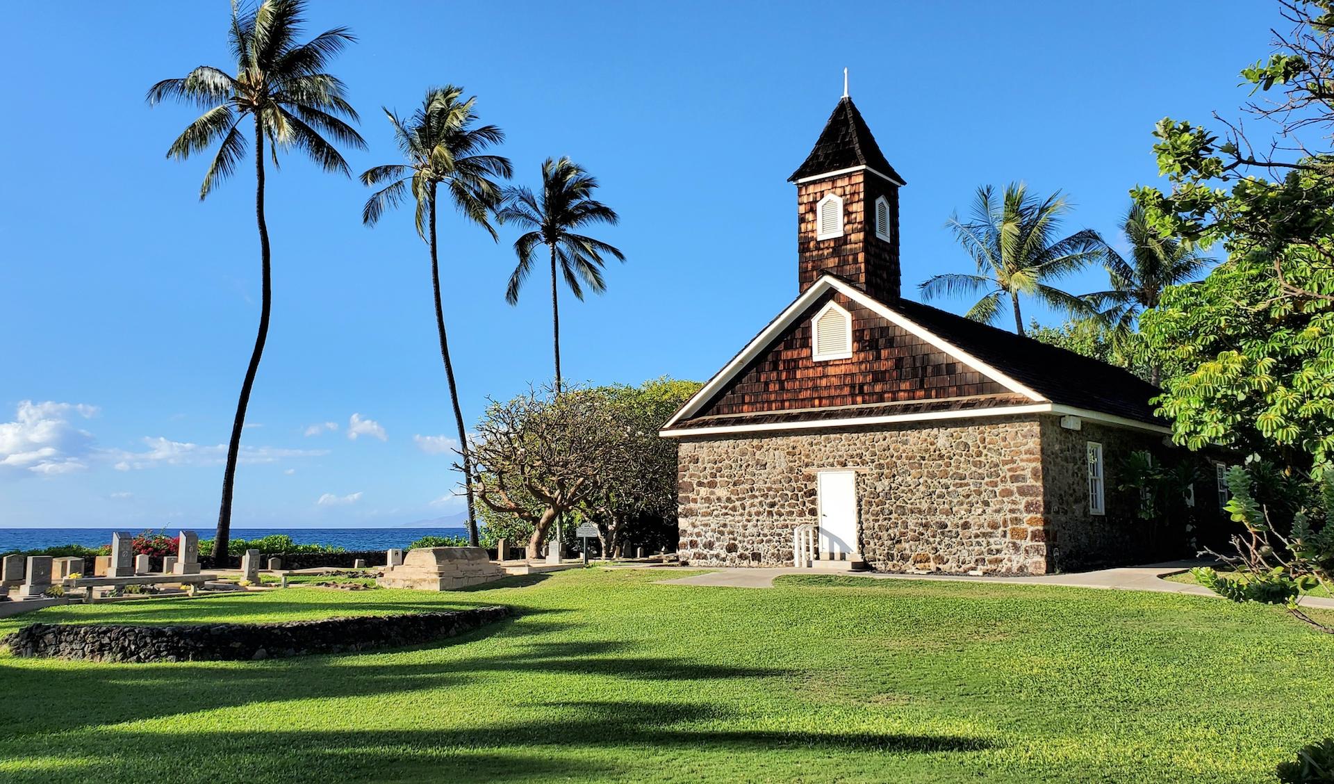 Keawala'i Congregational Church located on Maui Hawaii.