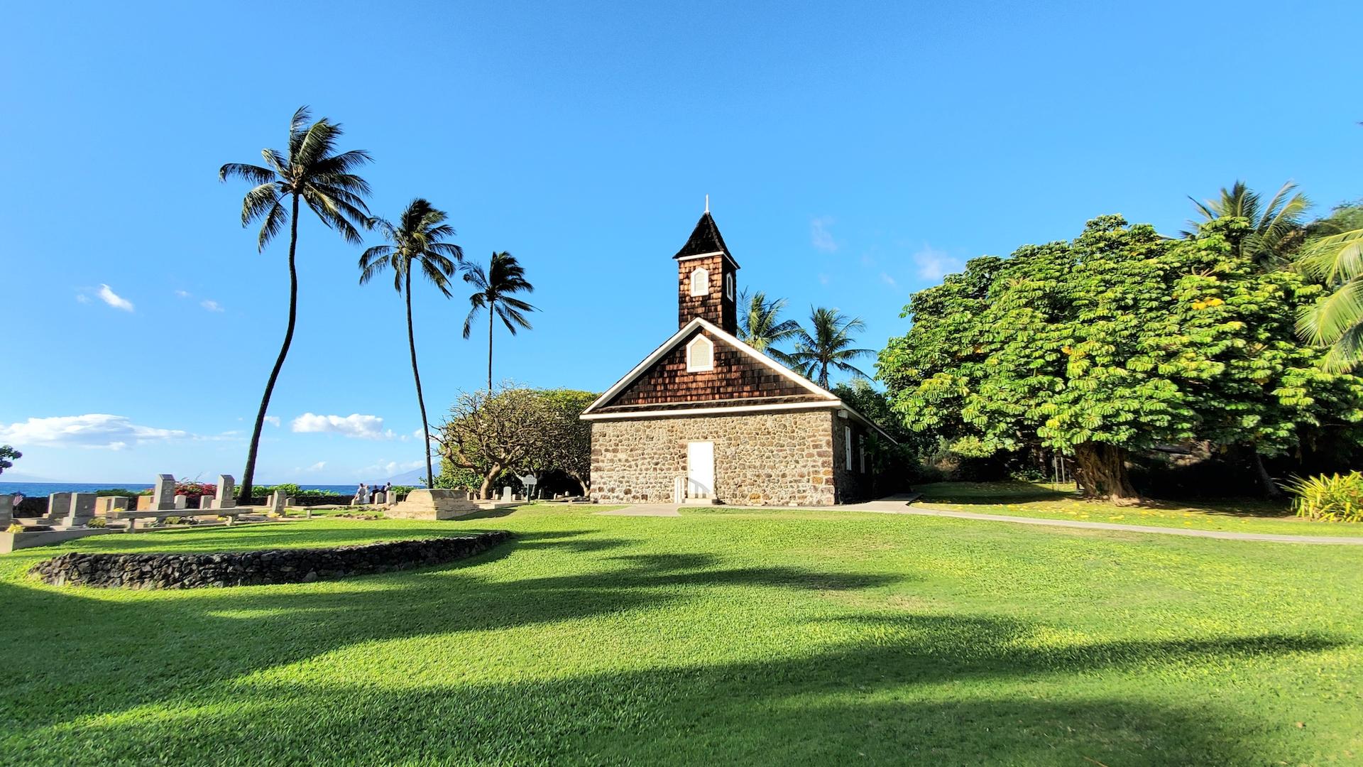 Keawala'i Congregational Church located in Makena Maui.