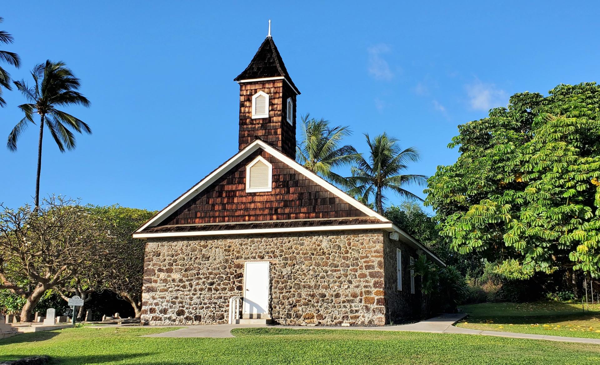 Keawala'i Congregational Church located on South Maui.