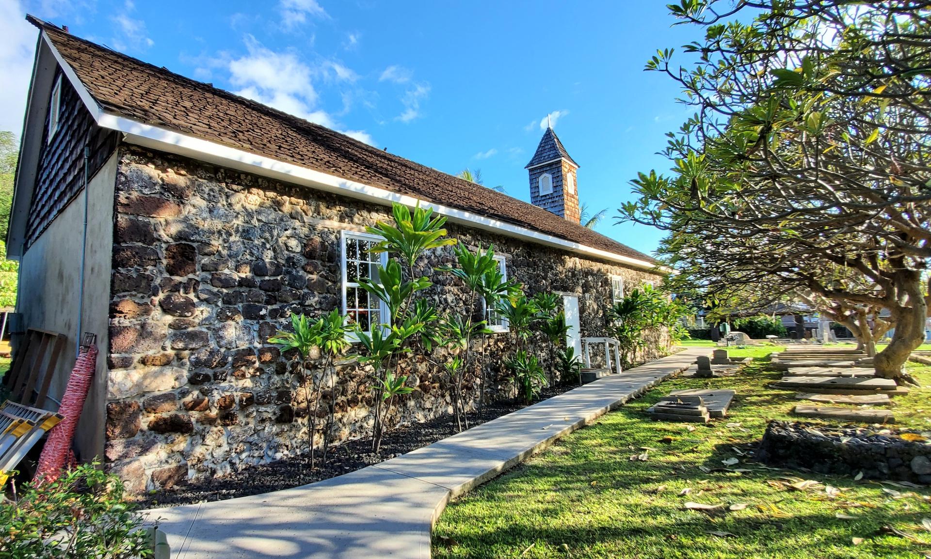 Keawala'i Congregational Church and Cemetery.