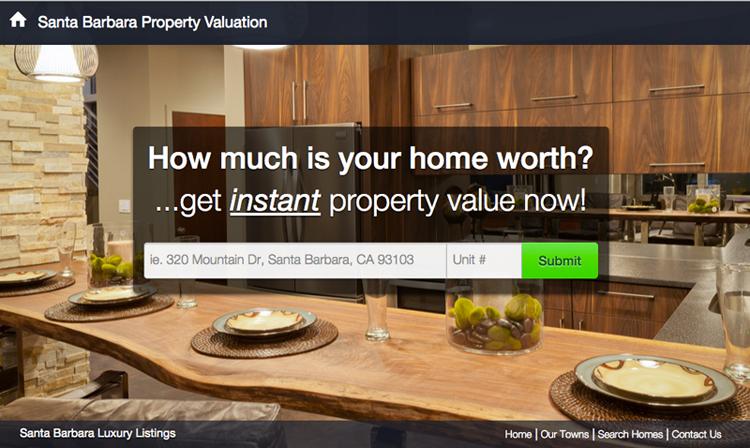 Get Your Santa Barbara Home Valuation