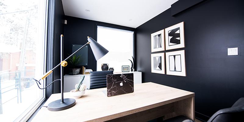 Menard Johnson Real Estate Home Office