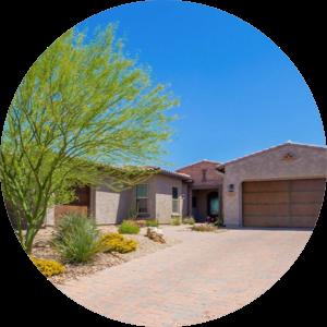 Ranch style home in Marana, AZ