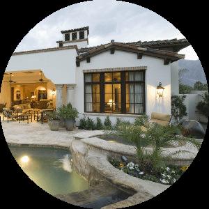 Tucson home with luxury pool