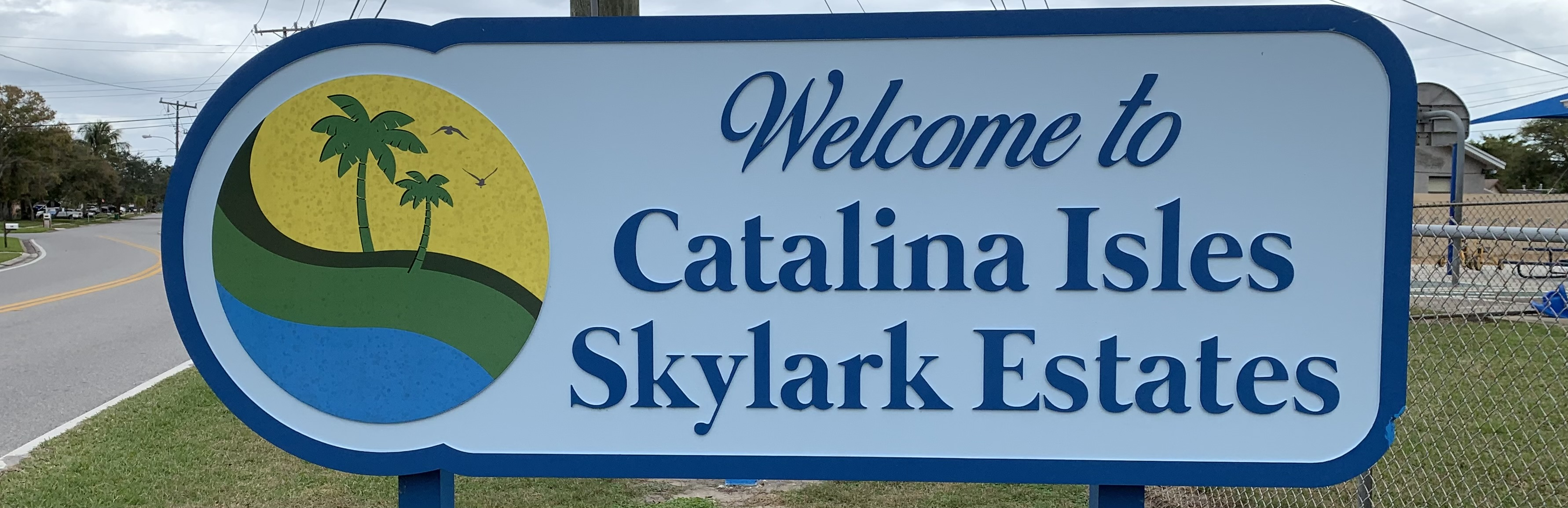 Signage for subdivisions