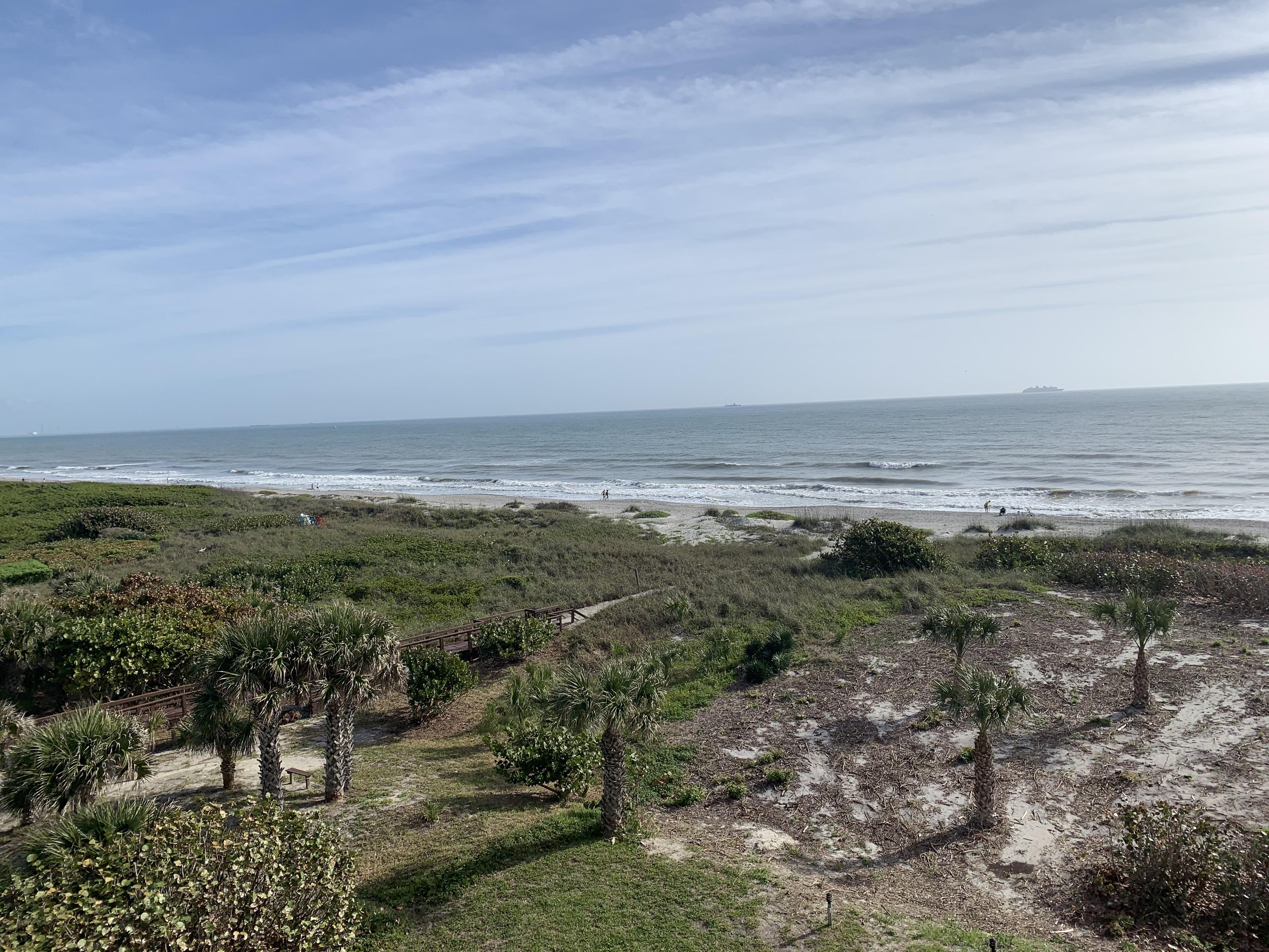 Cocoa Beach from Windrush Condo