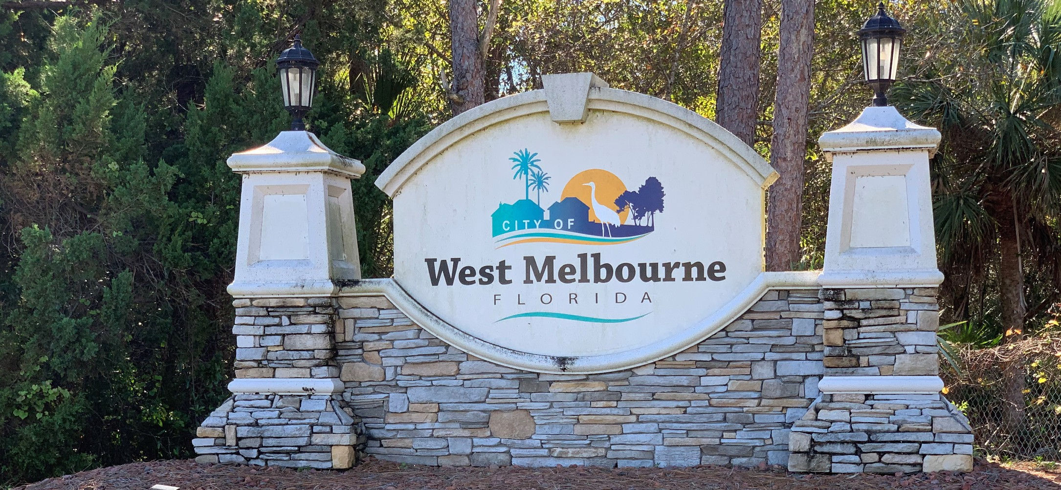 West Melbourne Welcome Signage