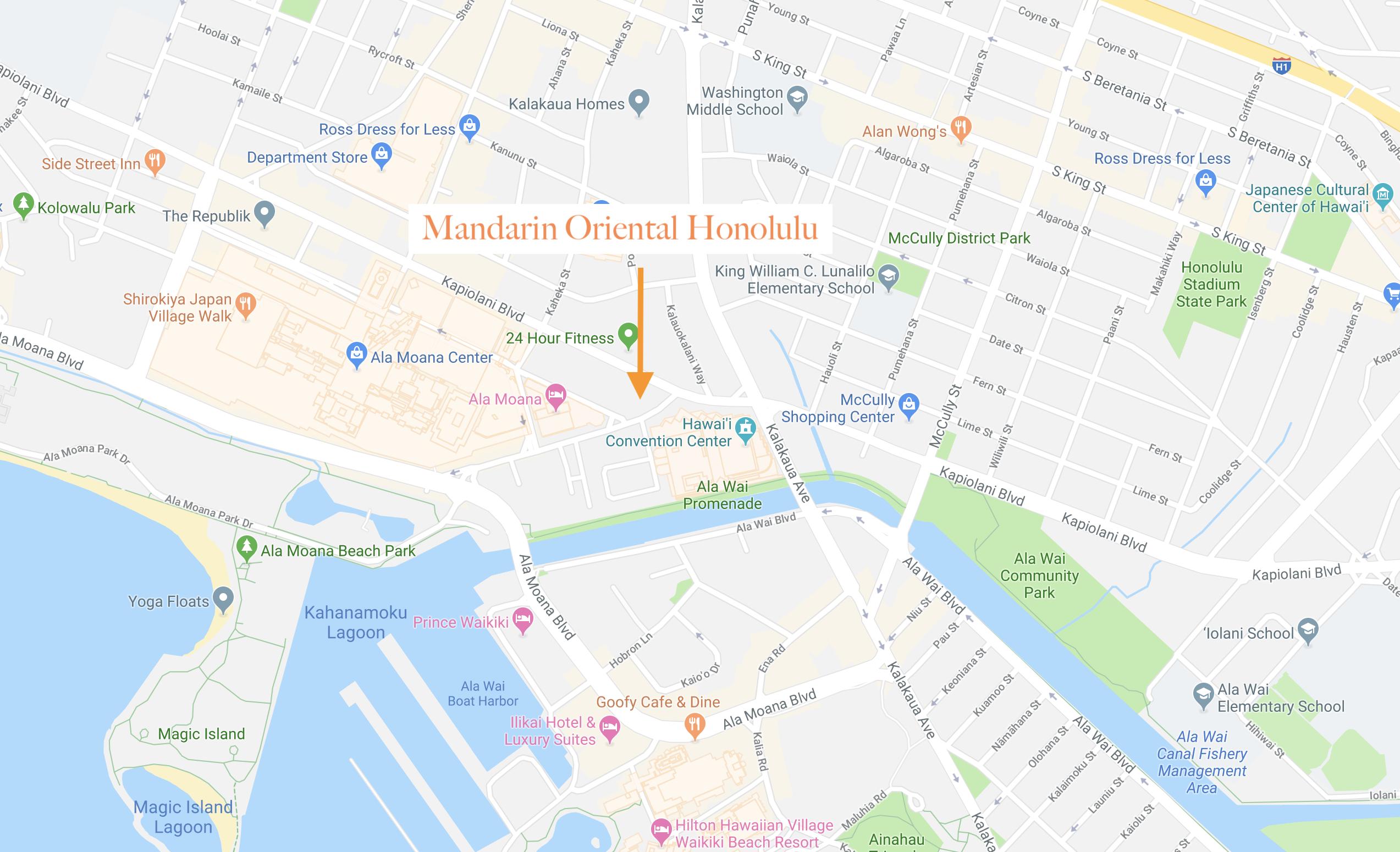 Mandarin Oriental Honolulu