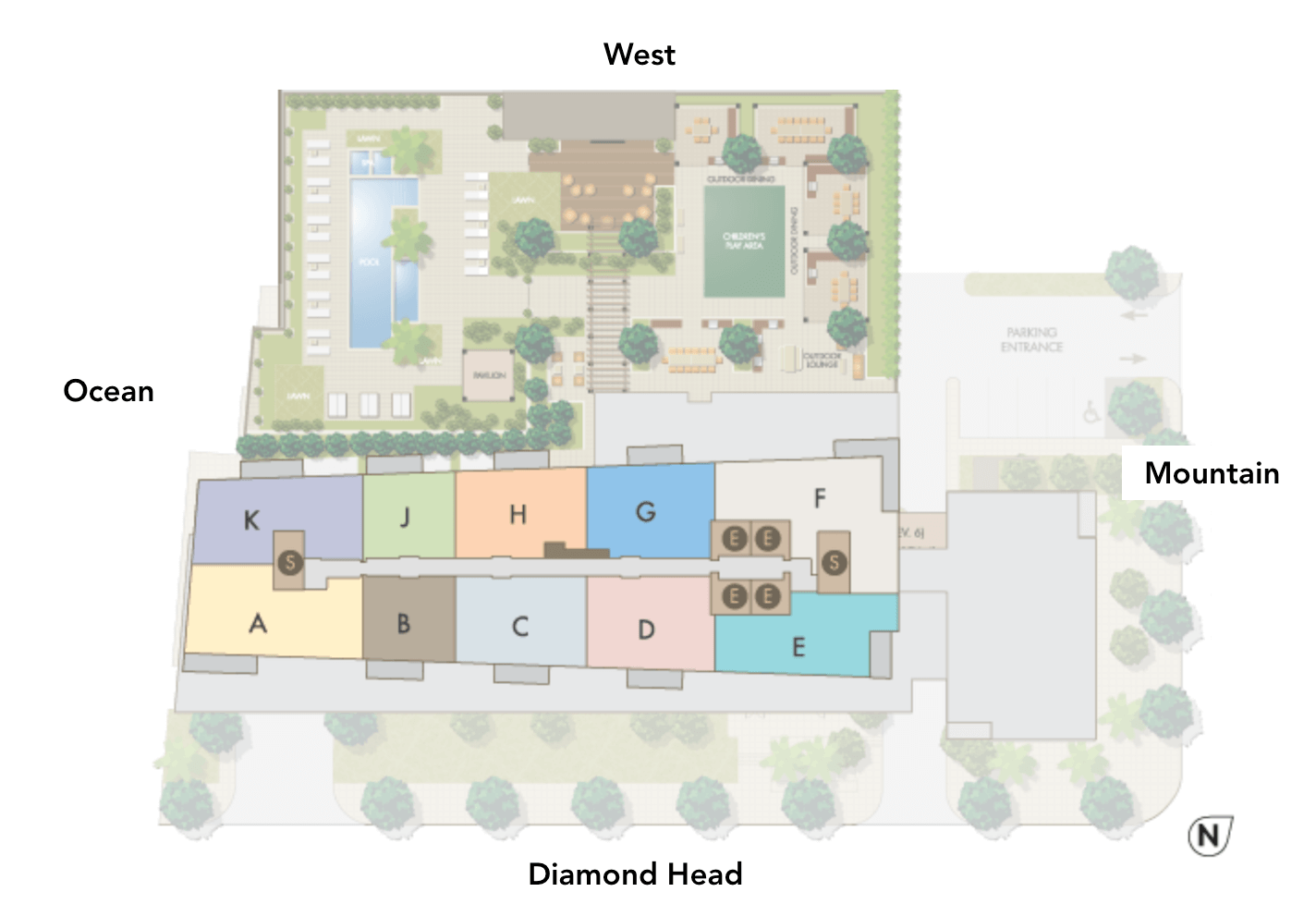The Collection Site Plan