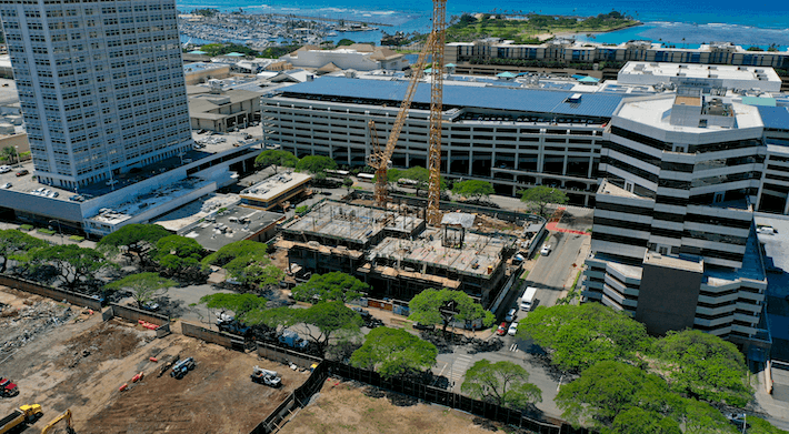 The Central Ala Moana Construction Update April 2020
