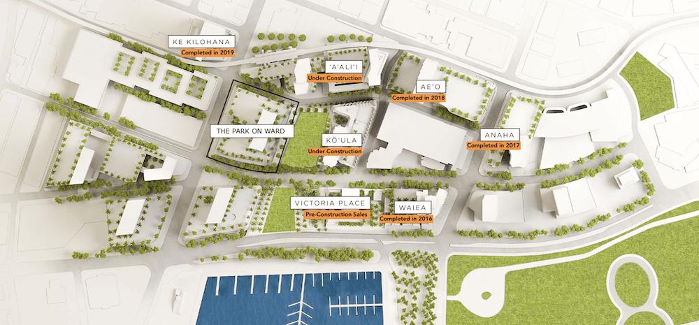 Ward Village Map 2021
