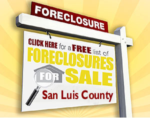 Free San Luis Obispo Foreclosure List