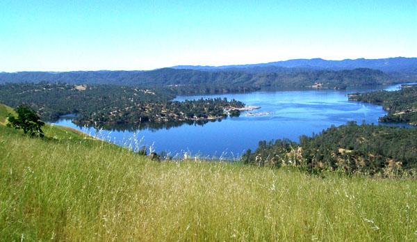 Lake Nacimiento Aerial View