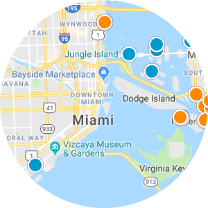 Coconut Grove Real Estate Map Search
