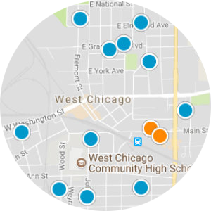 Berwyn Real Estate Map Search