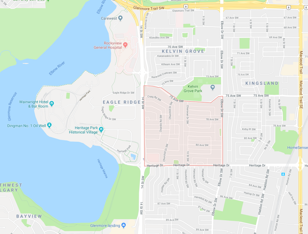 Homes for Sale in Chinook Park