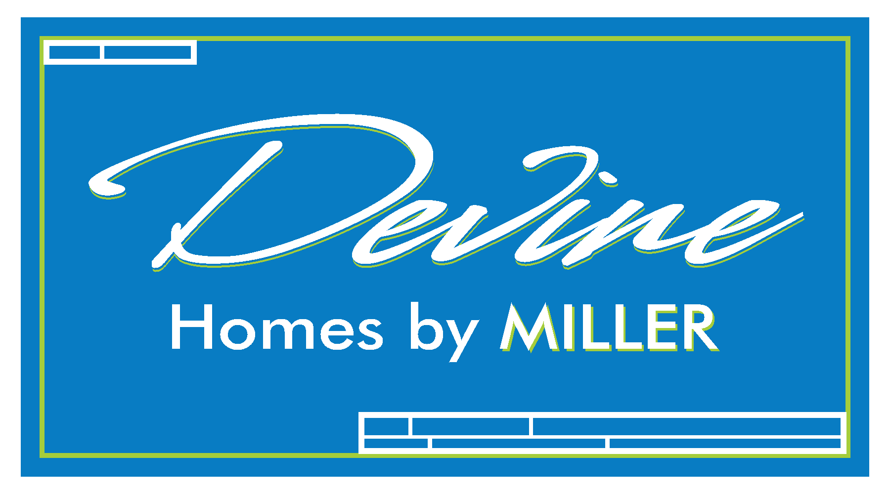 devine homes by miller logo blue