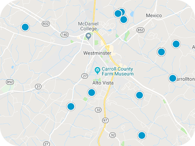 Maryland Real Estate Map Search