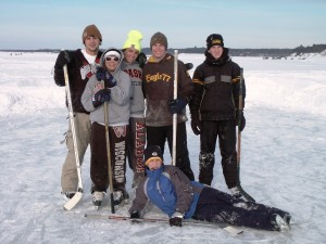 Winter memories on Lake Petenwell