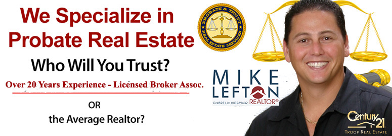 Mike Lefton Probate Realtor