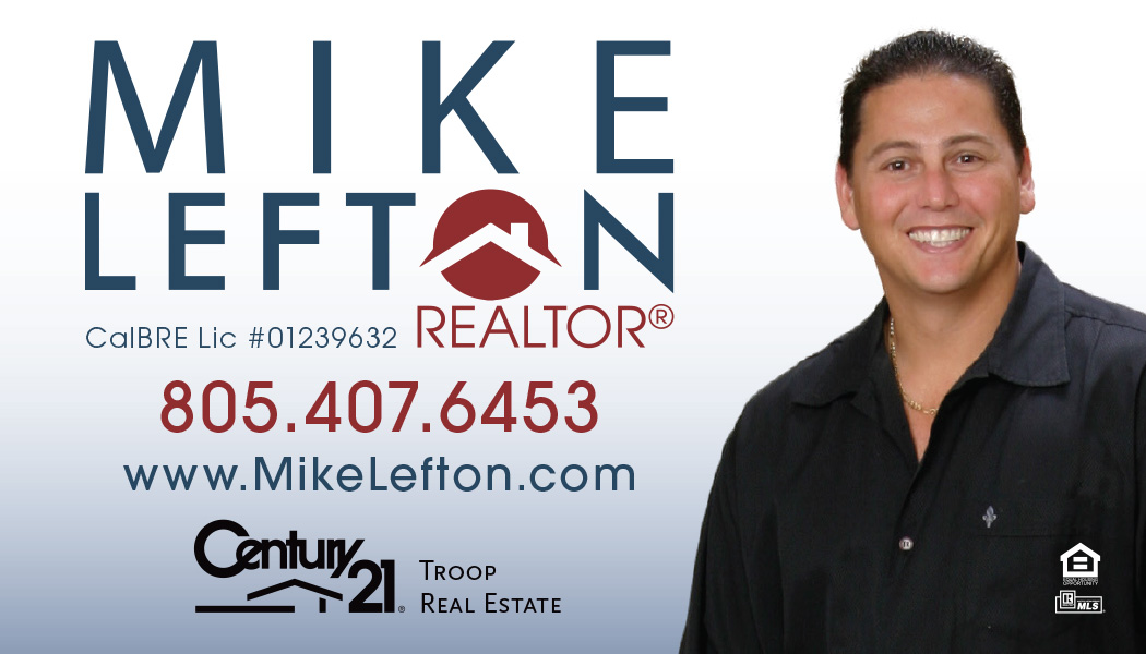 Simi Valley realtor Mike Lefton at Century 21 Troop real estate.