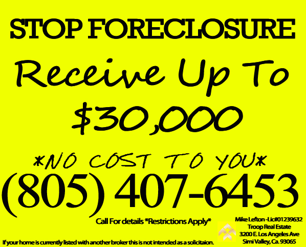 Stop foreclosure in Simi Valley