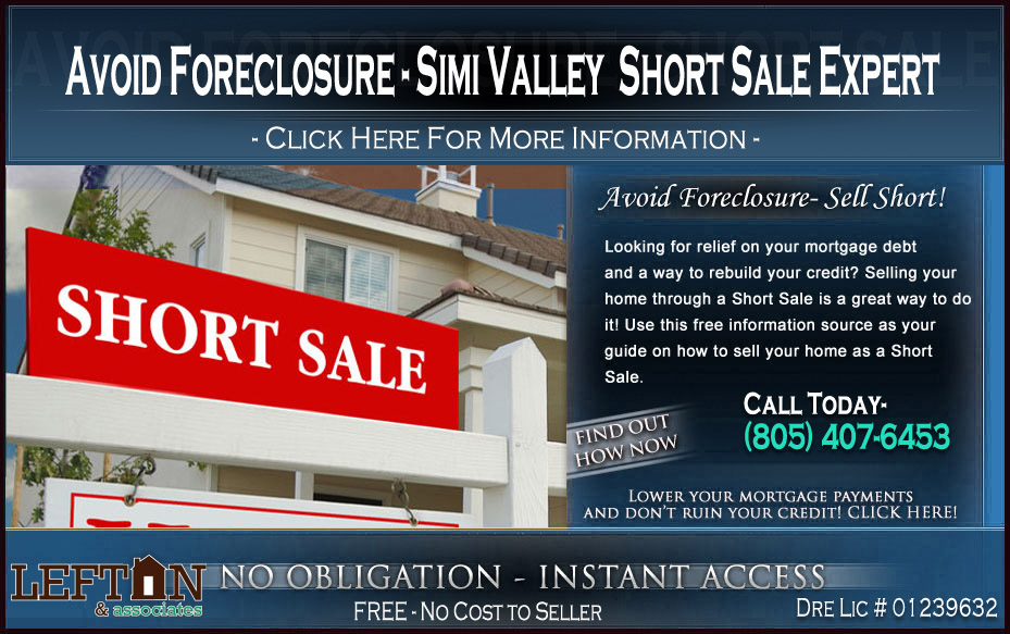 Simi Valley distressed property expert