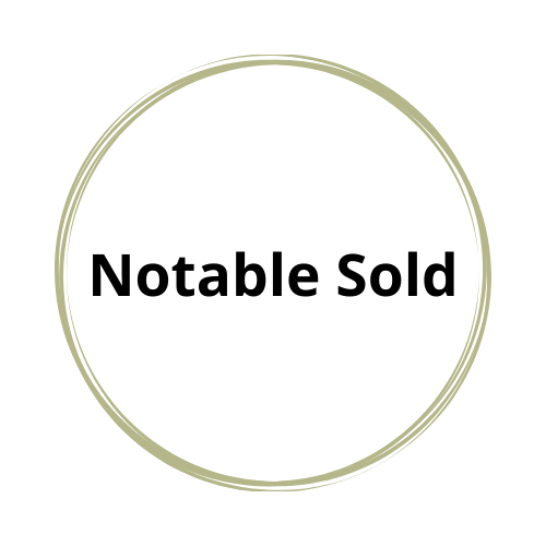 Notable Sold