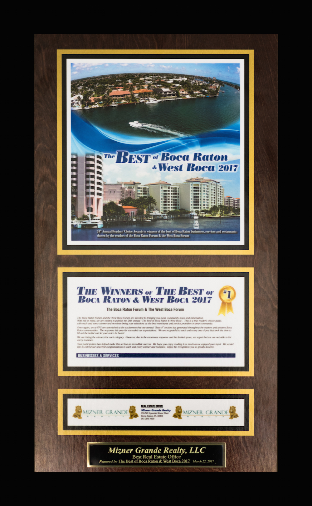 Best Real Estate Company Boca Raton Mizner Grande Realty
