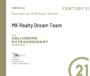 C21 2018 MidYear Award - #1 Team in NYC