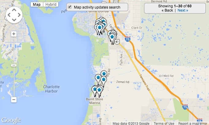 Burnt Store Marina Home Search